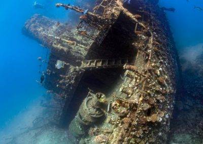 Wreck of Ghiannis D. at Abu Nuhas, Egypt © Josef Litt