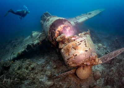 The Jake seaplane wreck, Palau.