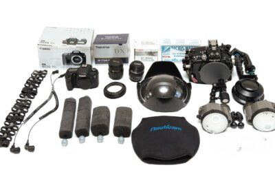 Selling a Complete Underwater Photography Kit with Canon 7D